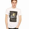 Armani Exchange Blurred Traffic T-Shirt 6ZZTBF-ZJBUZ White