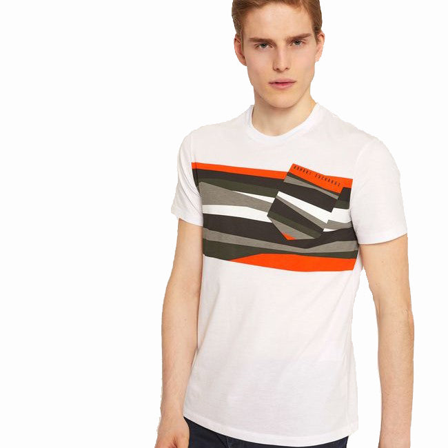 Armani Exchange T-Shirt 6ZZTAC-ZJA5Z 1100 White