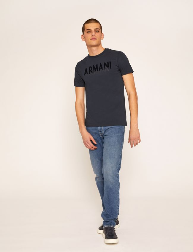 Armani Exchange Overlay Deco T-Shirt - Ignition For Men