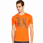 Armani Exchange Metallic Diagonal T-Shirt - Ignition For Men