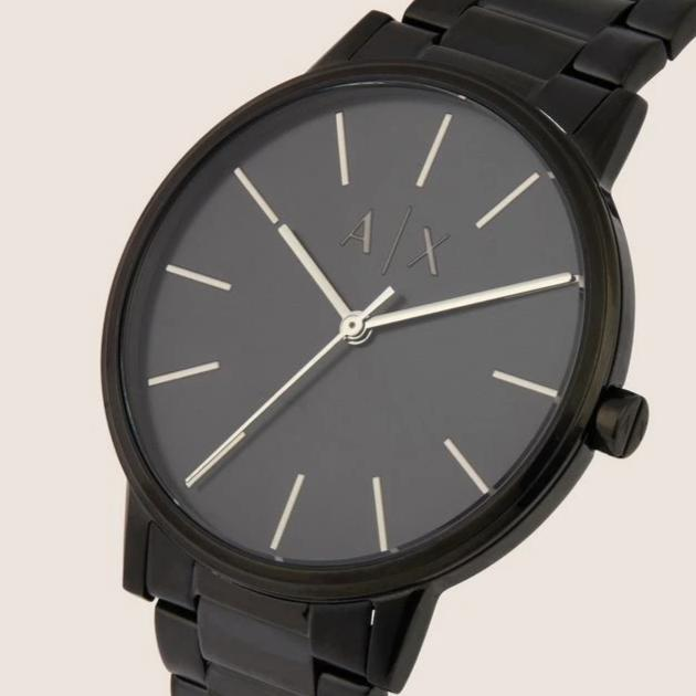Armani Exchange Matte Black Watch - Ignition For Men