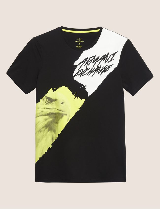 Armani Exchange Eagle Comic T-Shirt - Ignition For Men