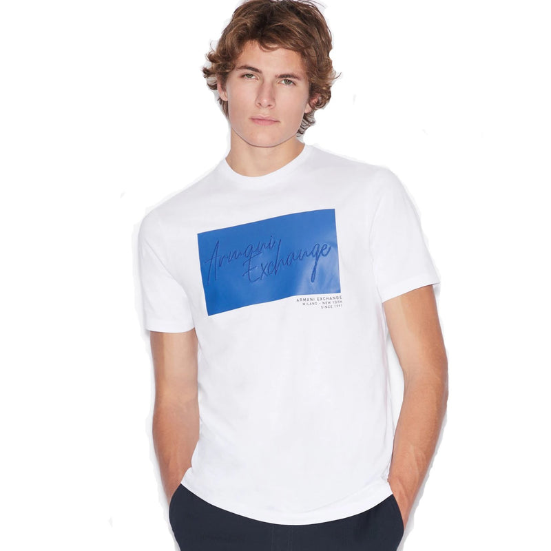 Armani Exchange Graphic T-Shirt White 6GZTBP ZJBVZ 1100