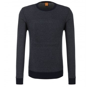 Boss Orange Jumper 50372729 Dark Blue