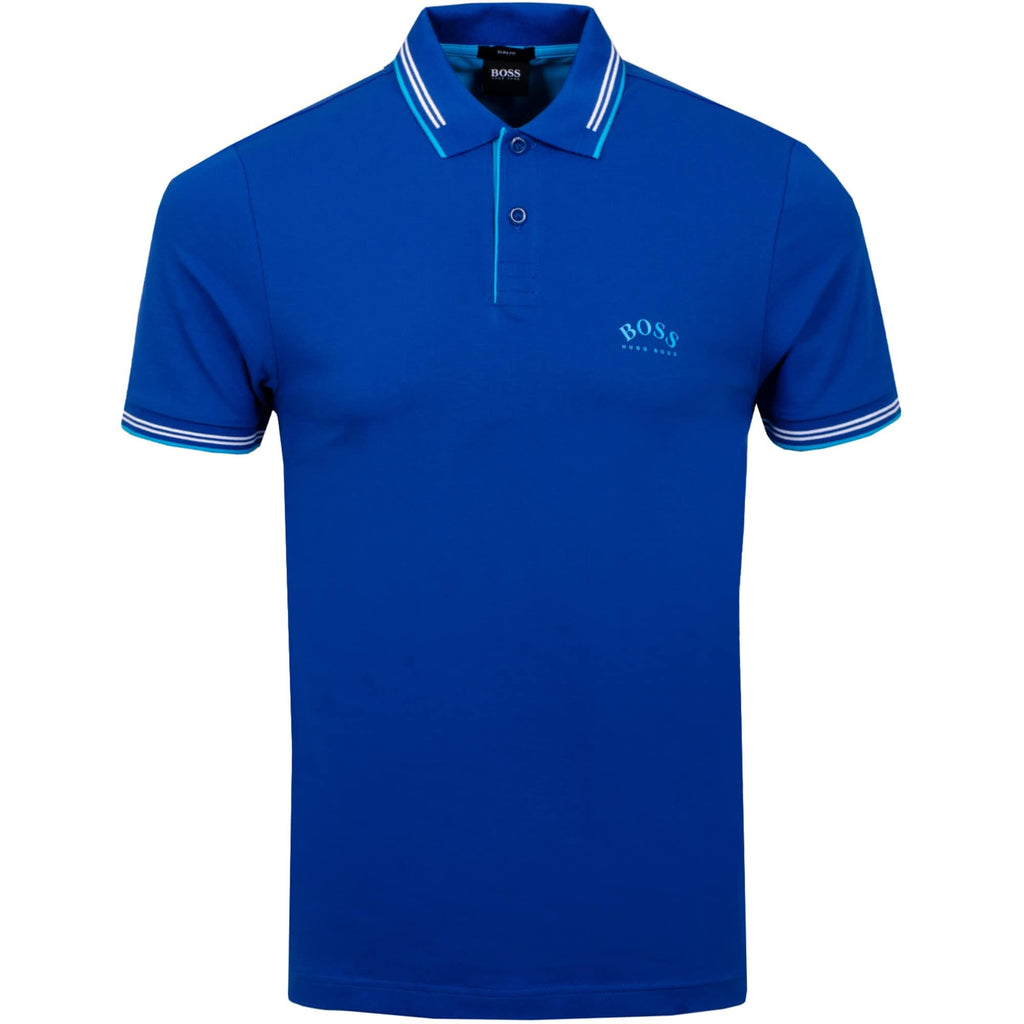 Hugo Boss Athleisure Paul Curved Polo - Ignition For Men
