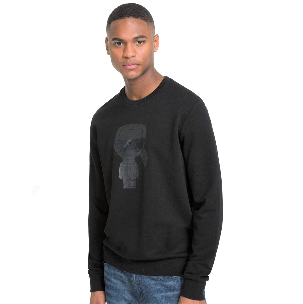 Karl Lagerfeld Sweat Crewneck 705080-591905 Black