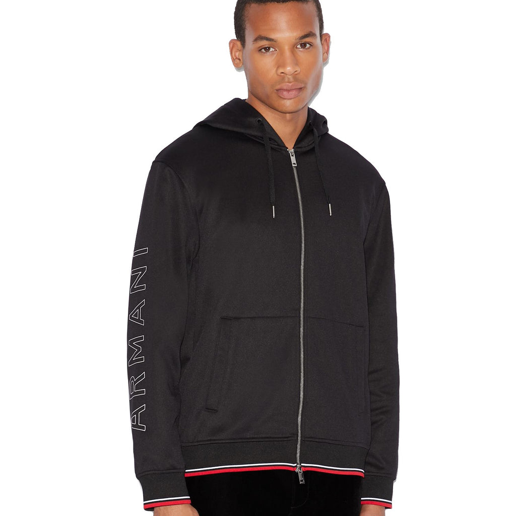 Armani Exchange Hoodie Jacket - Ignition For Men
