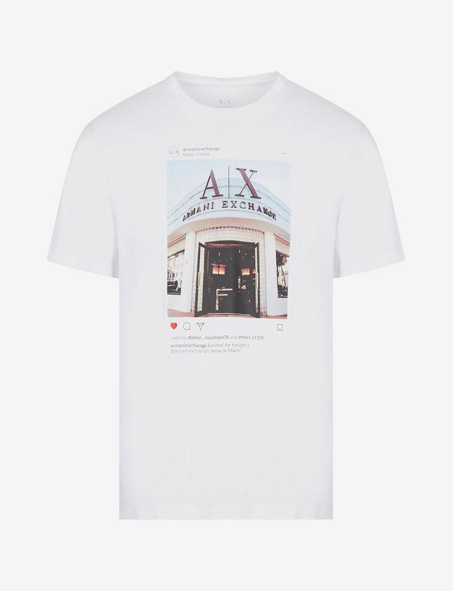 Armani Exchange Logo T-Shirt - Ignition For Men
