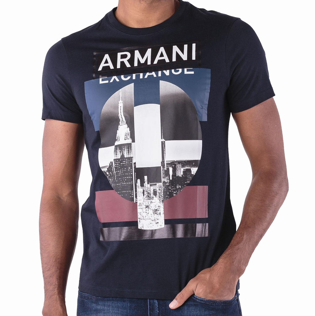 Armani Exchange 6ZZTDD-ZJBVZ Navy Blue