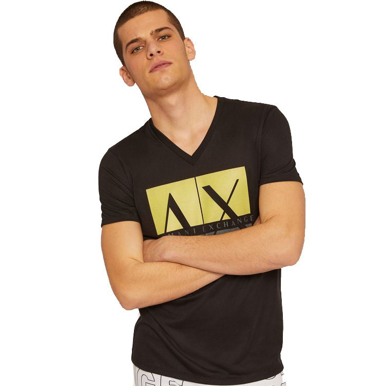 Armani Exchange Boxed Logo T-Shirt - Ignition For Men