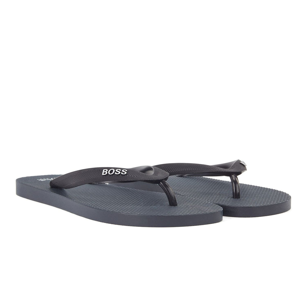 Hugo Boss Dark Blue Thongs - Ignition For Men