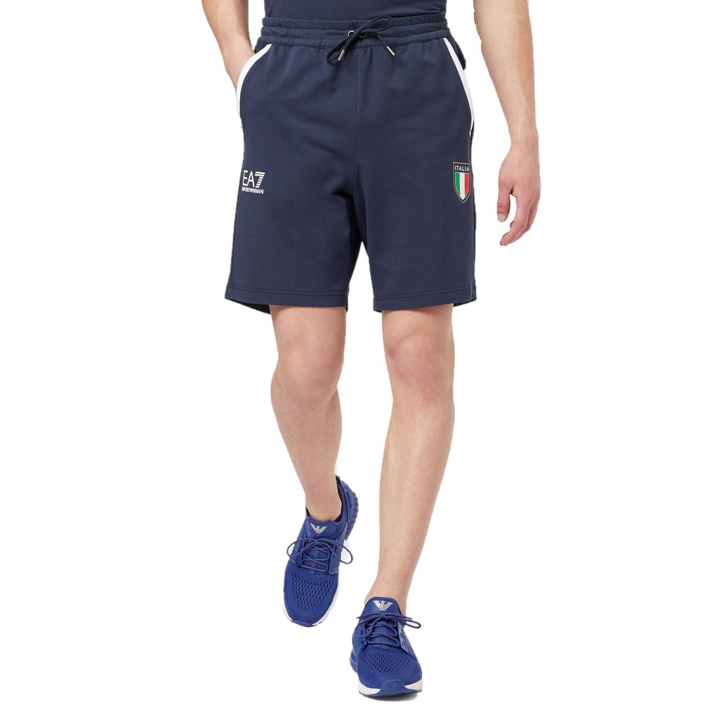 EA7 Team Italia Shorts - Ignition For Men