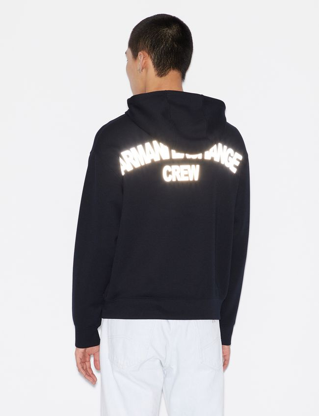 Armani Exchange Hooded Sweatshirt 6GZMGG-ZJY1Z
