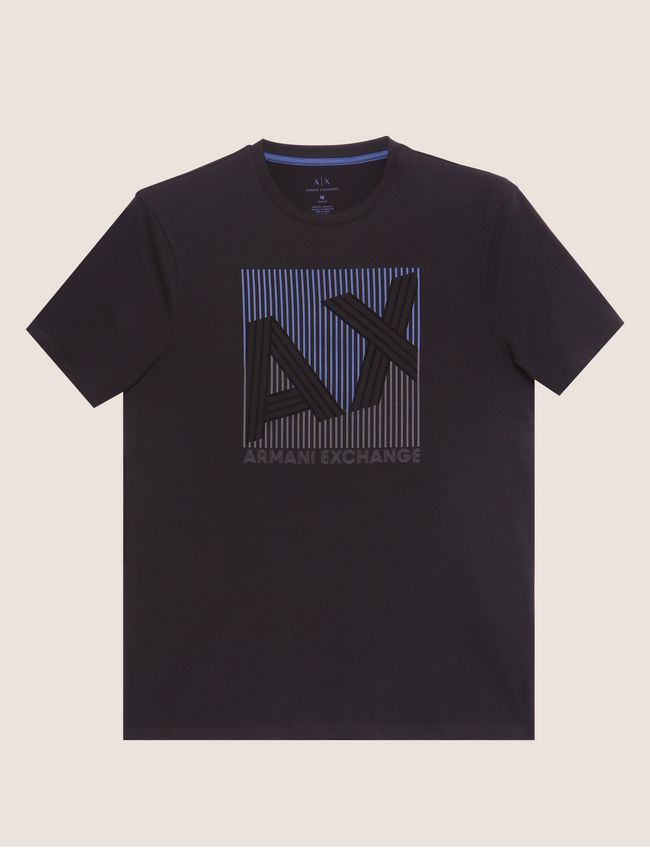 Armani Exchange T-Shirt 6ZZTBQ-ZJU9Z Black