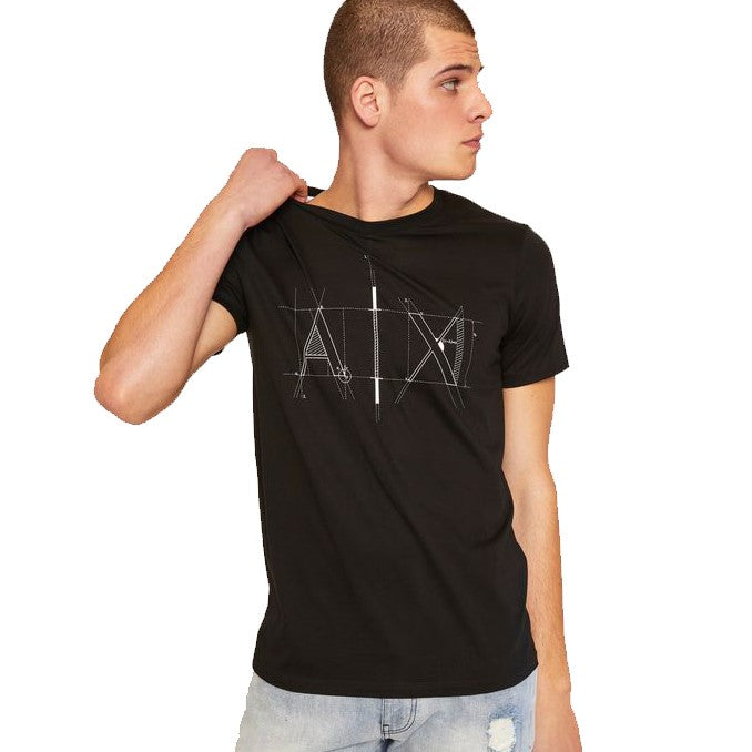 Armani Exchange T-Shirt 6ZZTEE-ZJA5Z Black