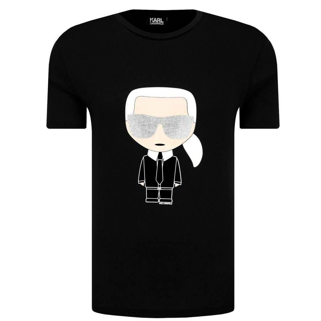 Karl Lagerfeld T-Shirt 755041 591251 990 Black