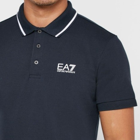 EA7 Jersey Polo - Ignition For Men