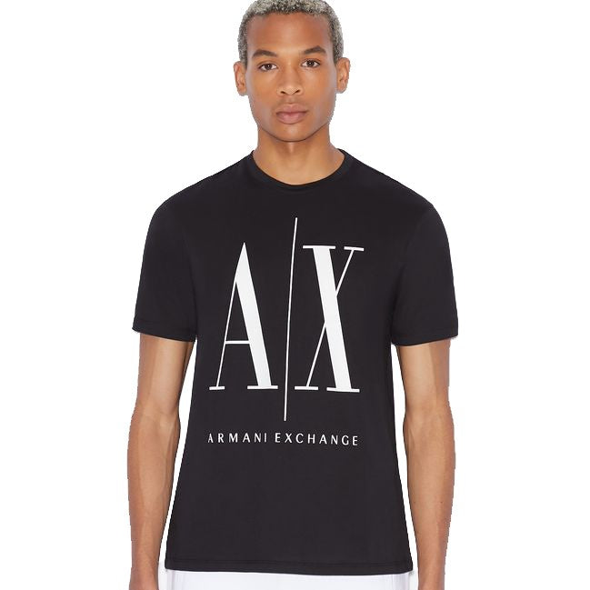 Armani Exchange T-Shirt 8NZTPA-ZJH4Z Black