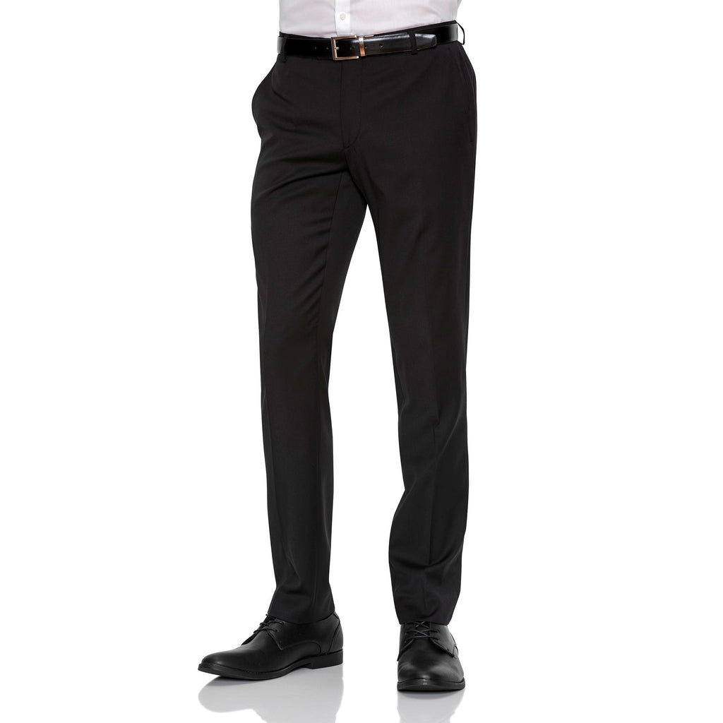 Black Gibson Trousers - Ignition For Men
