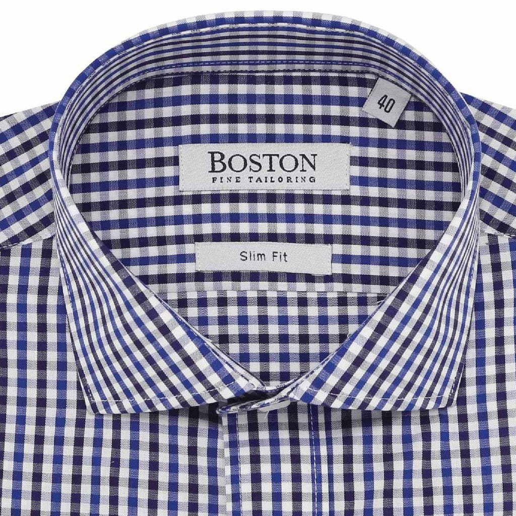 Boston Purple Check Shirt SC