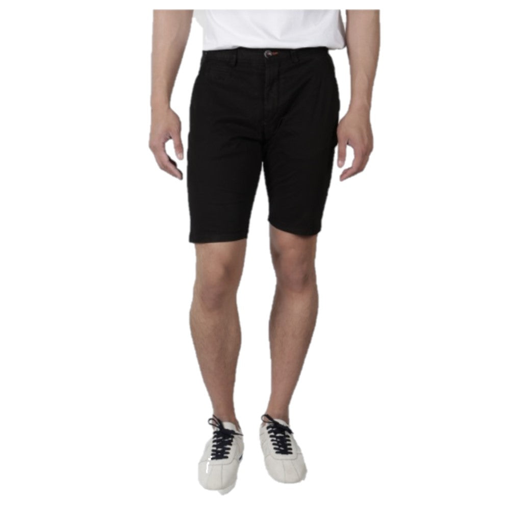 Brando Black Monar Shorts - Ignition For Men