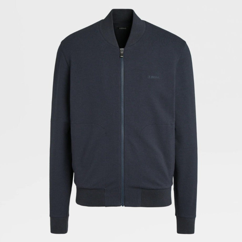 Z Zegna Navy Blouson - Ignition For Men