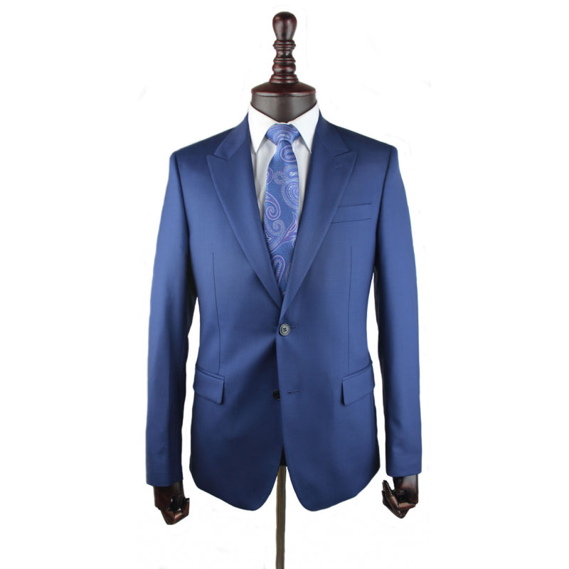 Versace Collection Suit bright blue