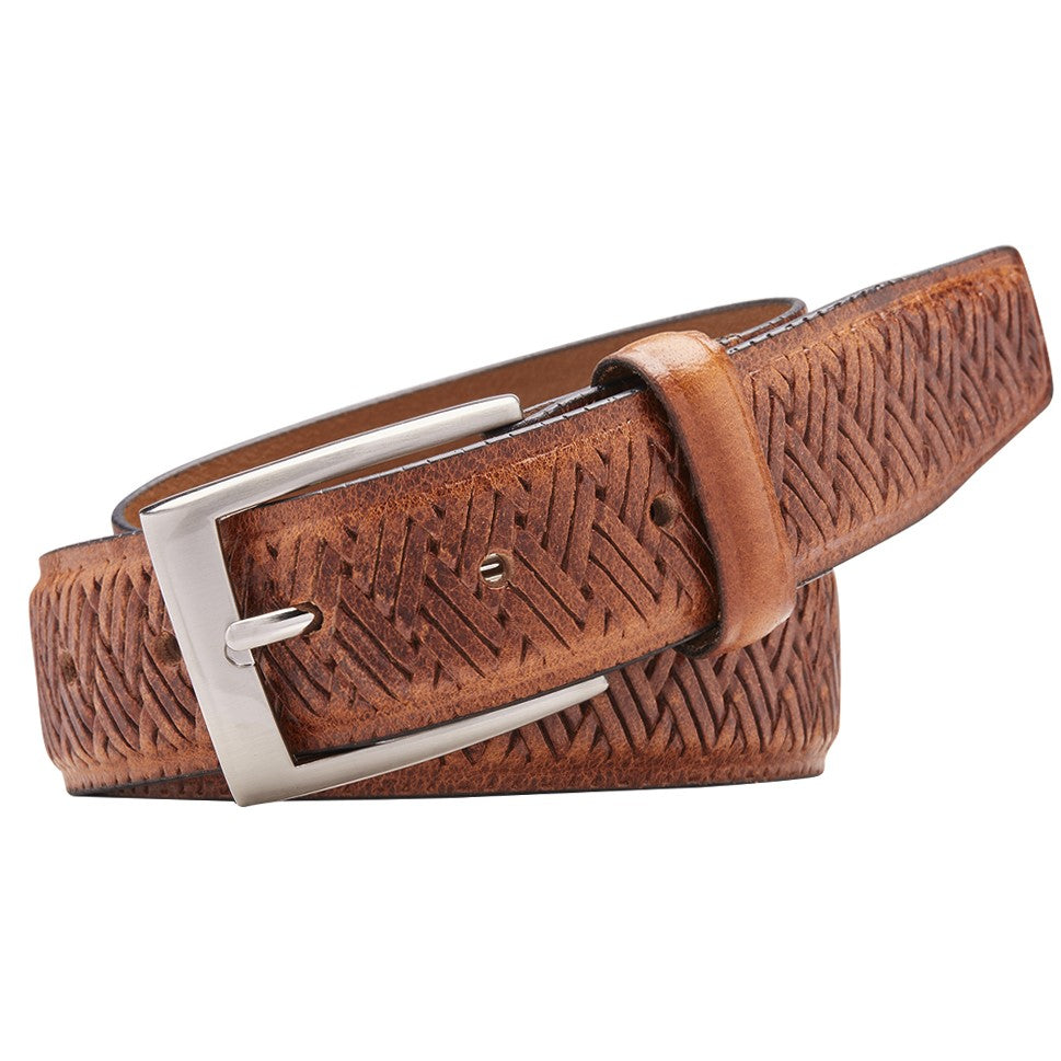 Buckle Cabana Cognac Belt