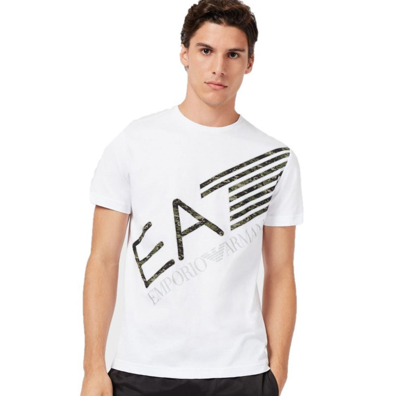 EA7 Jersey T-Shirt Camo - Ignition For Men