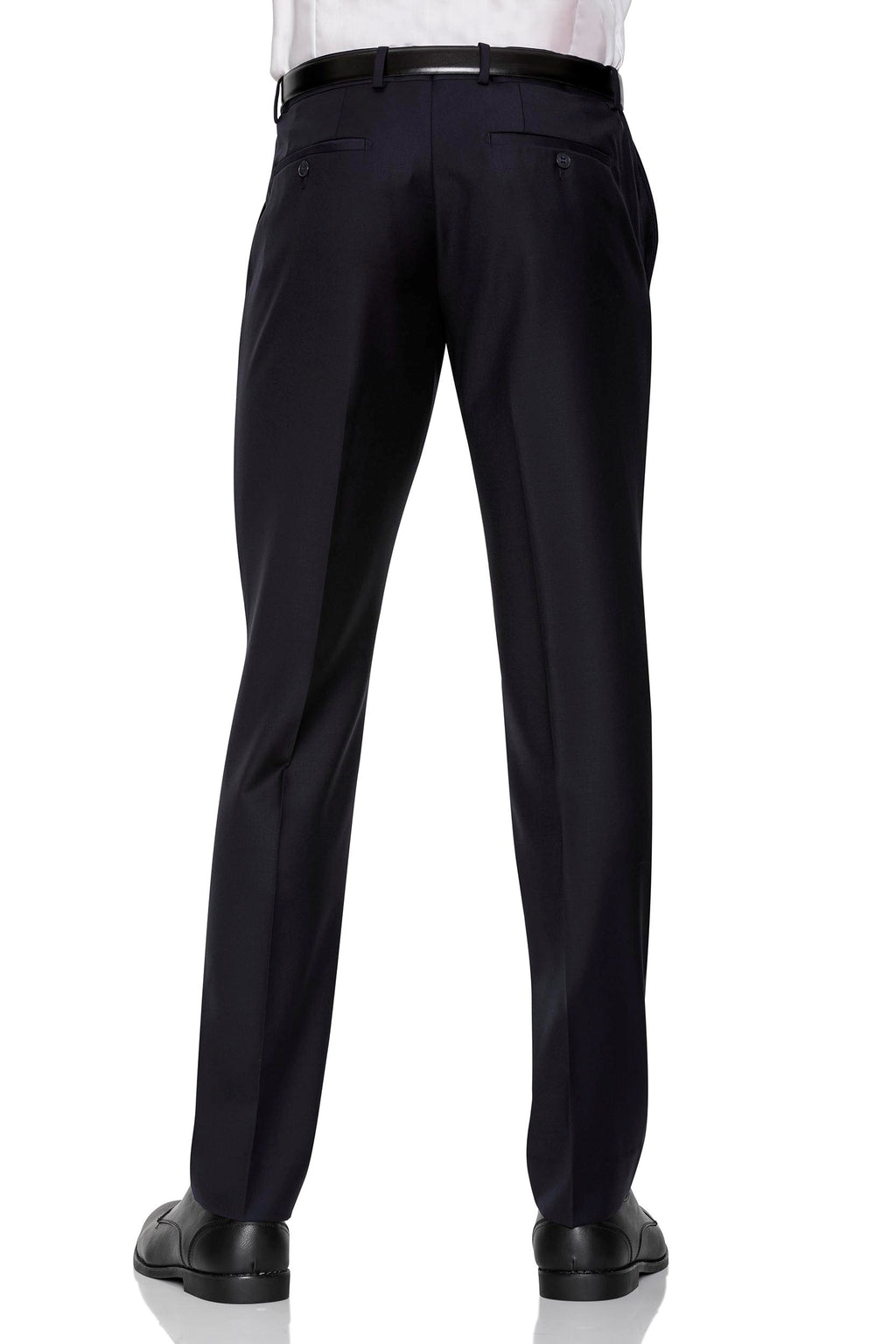 Dark Navy Gibson Trousers - Ignition For Men