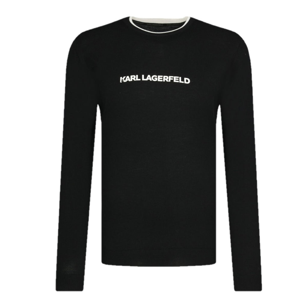Karl Lagerfeld Knit Crewneck - Ignition For Men