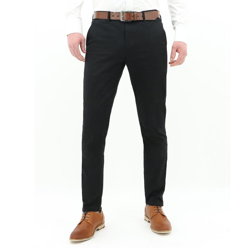 Daniel Hechter Black Chinos DH490-01