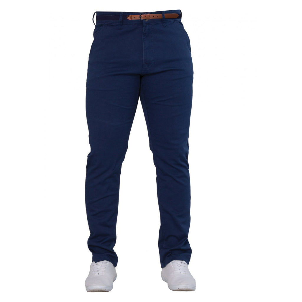 Enzo Blue Chinos - Ignition For Men