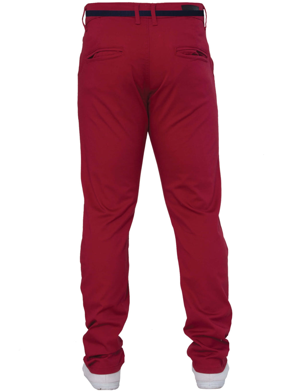 Enzo Red Chinos