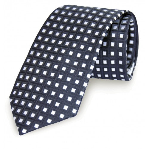 Formalaties Tie Black & White Tie Story  No 4: Colour Navy