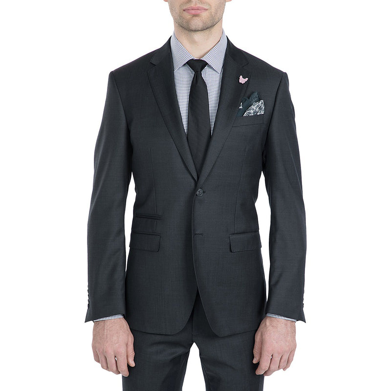 Gibson Charcoal 2pce Suit - Ignition For Men