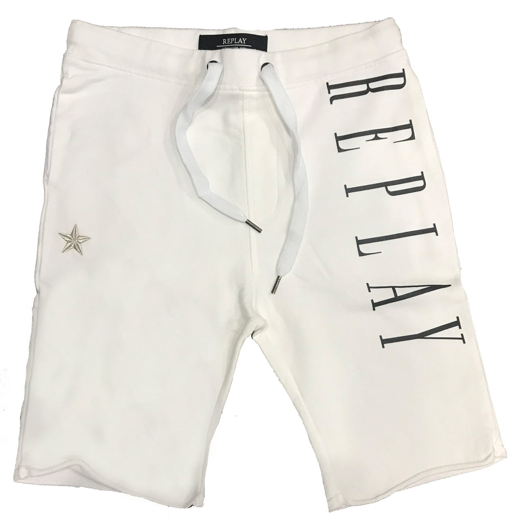 Replay Shorts M9614 001 White