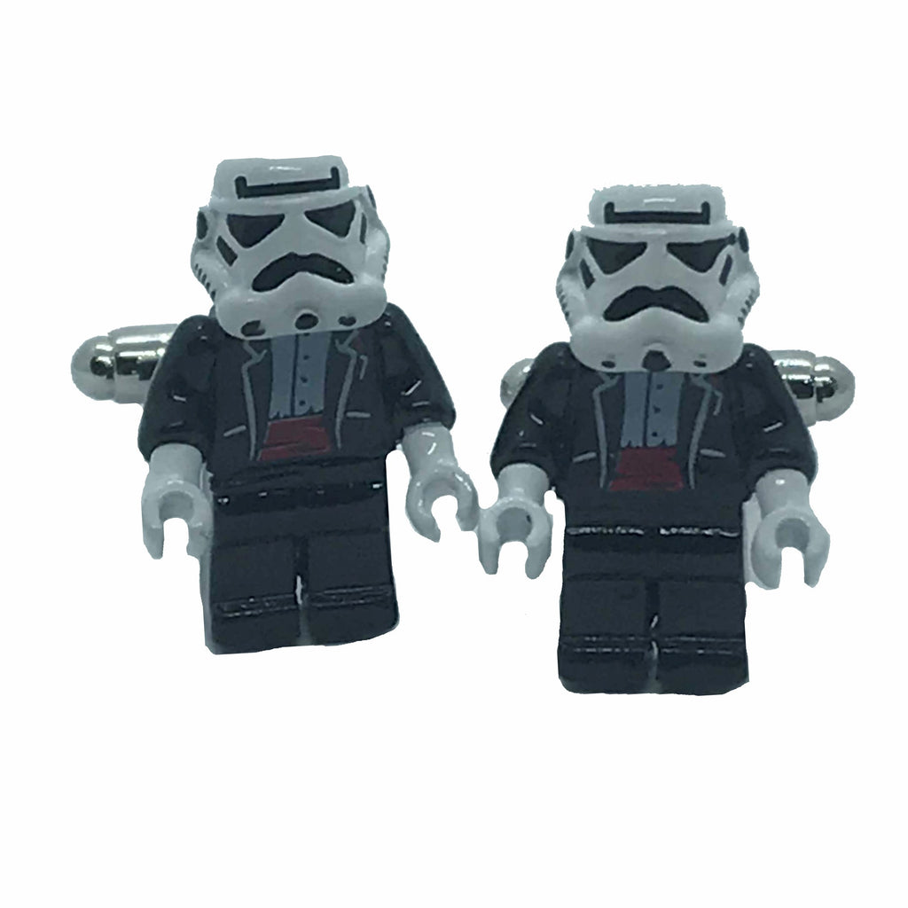 Stormtrooper Tuxedo Cufflinks - Ignition For Men