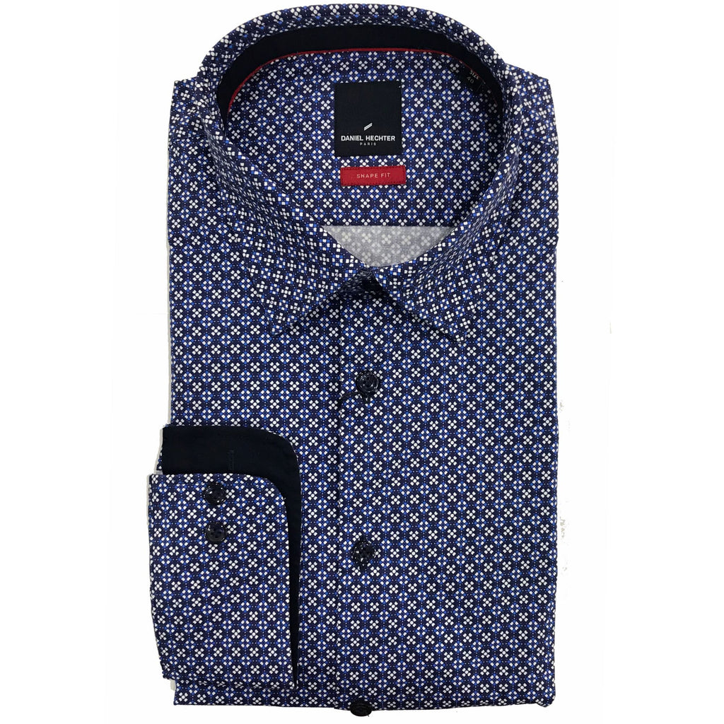 Daniel Hechter Blue / Navy / White Pattern - W19DS310-13