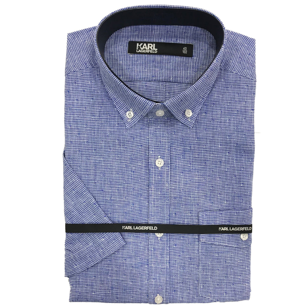 Karl Lagerfeld Shirt Blue 605517 591652 670