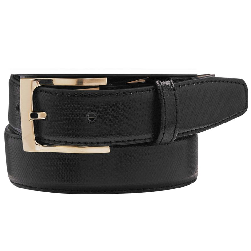 Buckle John Black Belt - Ignition For Men