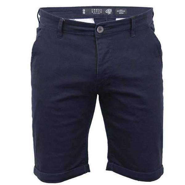 Crosshatch Brandons Night sky Chino Shorts