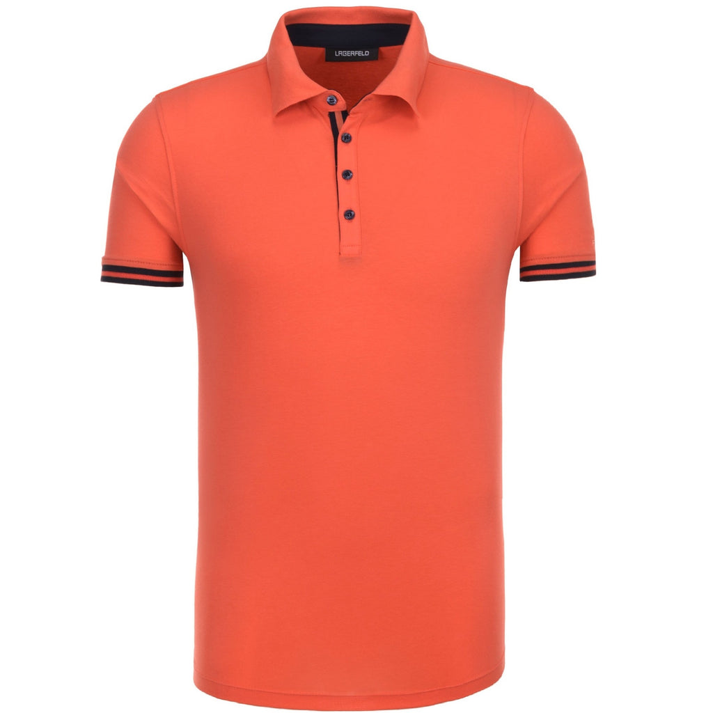 Lagerfeld Polo 756019 Orange