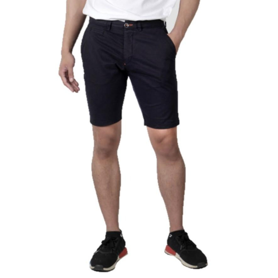 Brando Navy Monar Shorts - Ignition For Men