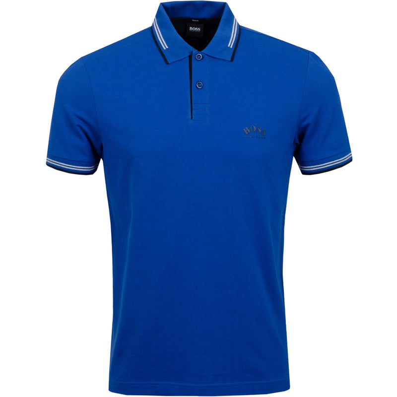 Hugo Boss Athleisure Paul Curved Polo Blue 50412675 10196402 01 495
