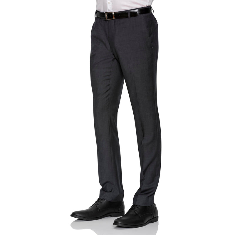 Charcoal Gibson Trousers - Ignition For Men