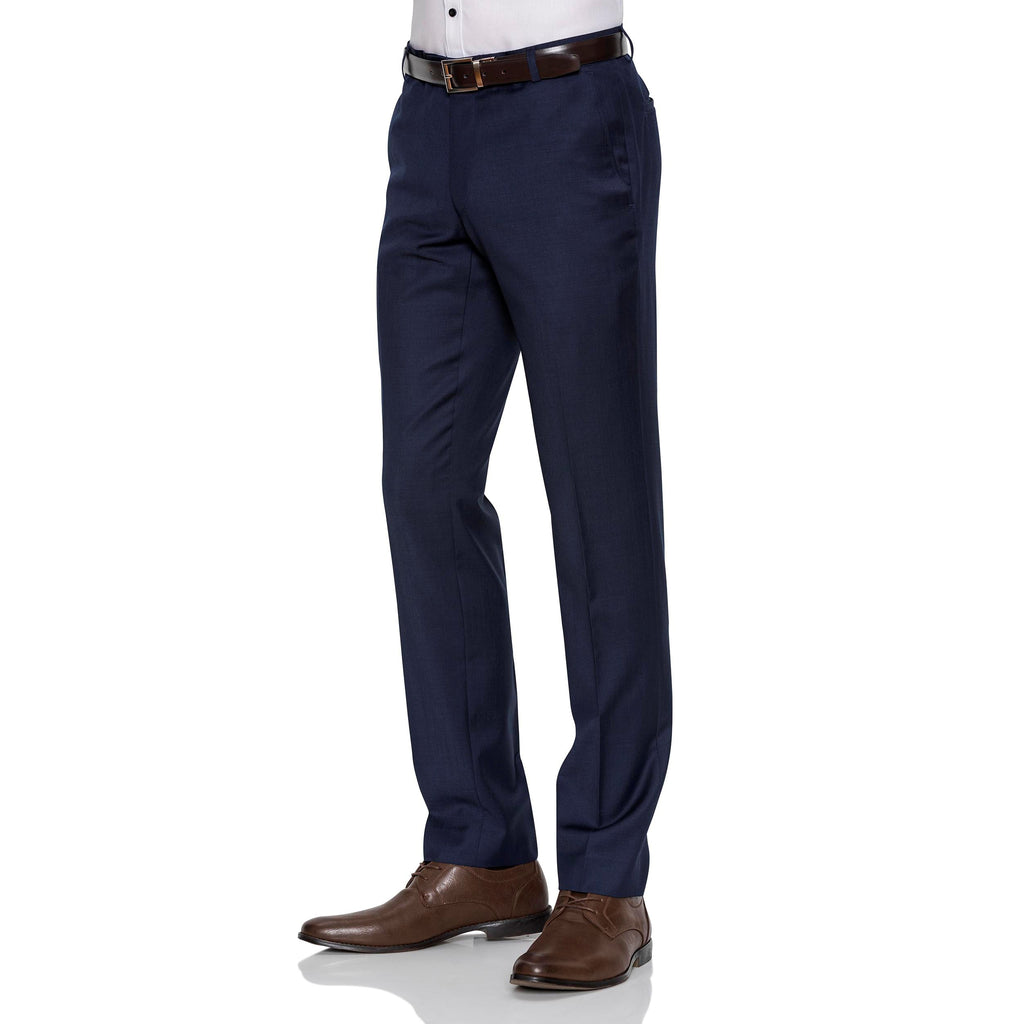 Navy Gibson Trousers - Ignition For Men