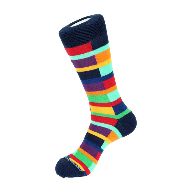 Unsimply Stitched Stripe Switch Socks - Ignition For Men