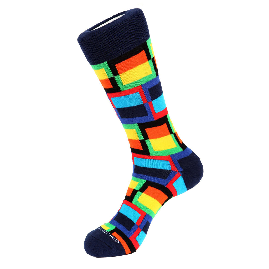 Unsimply Stitched Frame Socks 10013-3