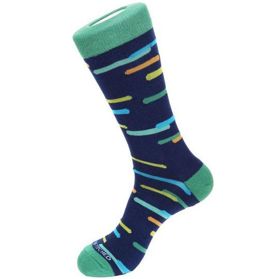 Unsimply Stitched UNST-9053-2 SWELL PRINT SOCKS